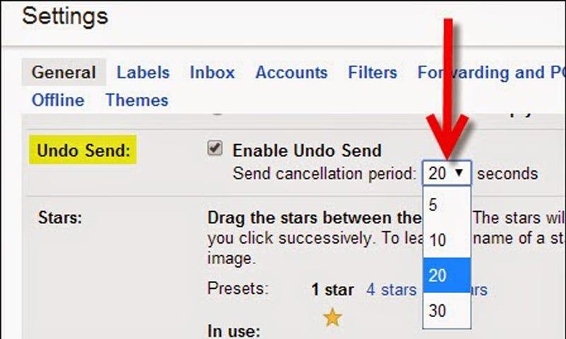 Image result for undo gmail send
