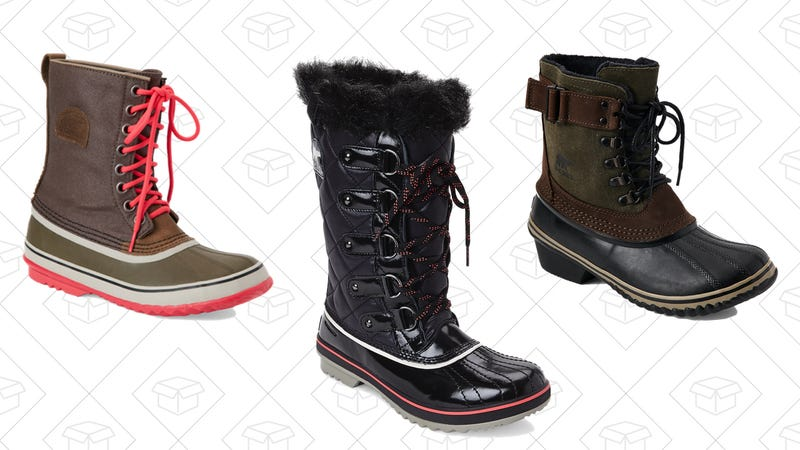 1964 Premium Canvas Snow Boots, $80 | Tofino Winter Boots, $80 | Fancy Lace II Waterproof Lace Up Boots, $90