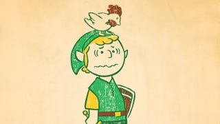 Illustration for article titled Charlie Brown as the Hero of Hyrule? Good Grief!