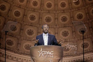 Dr. Ben Carson at the 41st annual Conservative Political Action Conference, March 8, 2014, in National Harbor, Md.T.J. Kirkpatrick/Getty Images