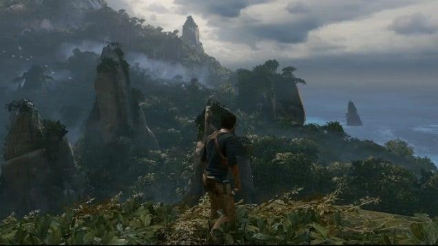 Aquí está el primer gameplay de Uncharted 4: A Thief's End