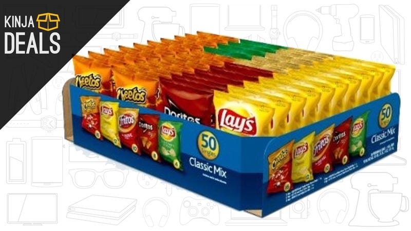 Illustration for article titled Add 50 Frito-Lay Snack Packs To Your Pantry For $13