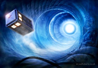 Illustration for article titled Doctor Who's mode of spacetime travel described in new physics paper
