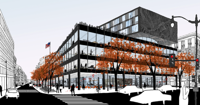 Illustration for article titled The Plan to Make DC's Central Library a Home for More Than Just Books