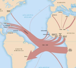 From where in africa were the slaves who landed in va dear professor gates ccuart Choice Image