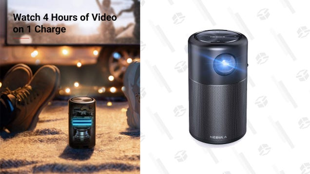 Host a Movie Night Anywhere With Anker s Discounted Portable Projector