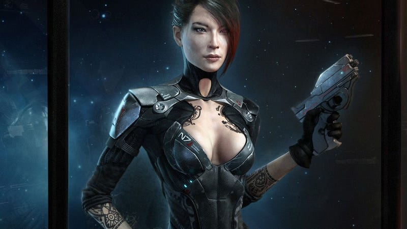 Illustration for article titled Now This Is the Female Shepard We Should Be Voting For