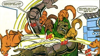 Illustration for article titled 10 Times Doctor Doom's Dignity Went Down The Toilet