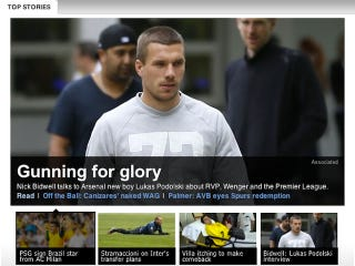 Illustration for article titled Did ESPN Really Make Up An Entire Interview With German Striker Lukas Podolski?