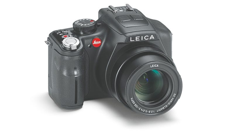 Illustration for article titled Leica's V-Lux 3 Super Zoom Camera Gains New 1080p Recording Powers