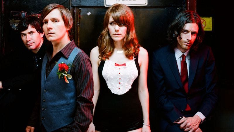 """Illustration for article titled Rilo Kiley captures the cold along with """"The Good That Won't Come Out"""""""