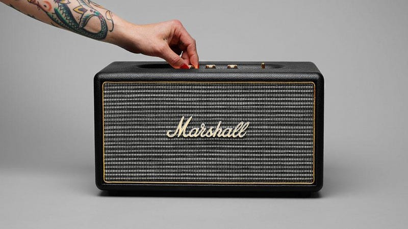 Illustration for article titled Marshall's New Bluetooth Speaker Oozes Vintage Style