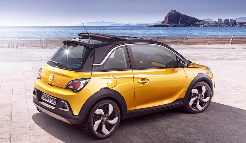 Illustration for article titled The Opel Adam Rocks Looks Like A Tough Sneaker