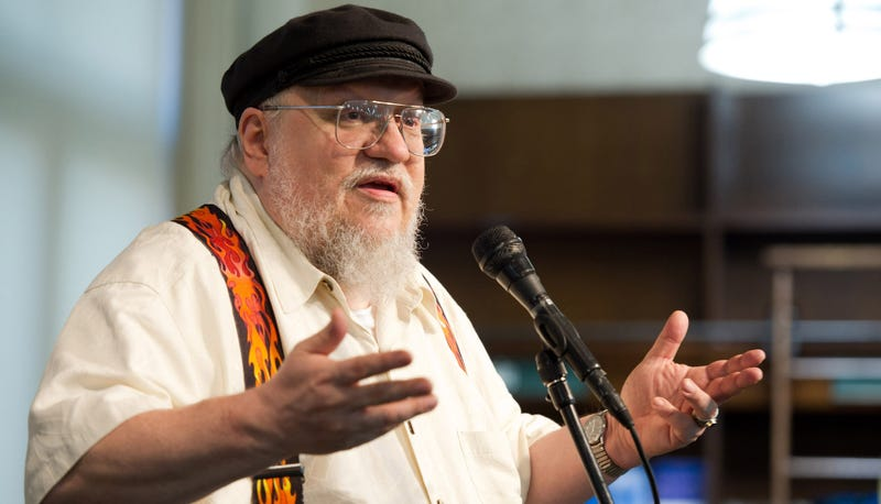 George RR Martin corrects reports: Yes, he watches Game of Thrones!