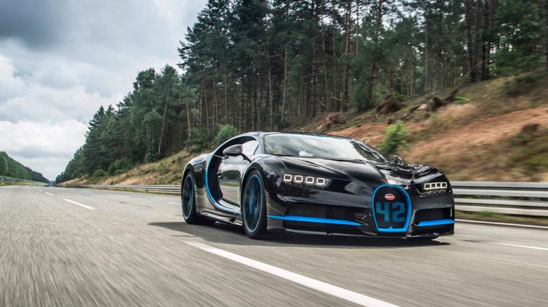 El Bugatti Chiron original.