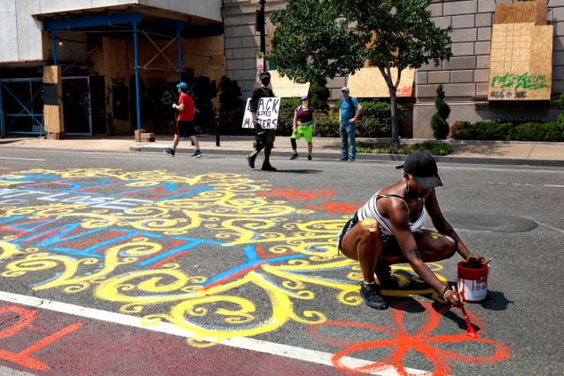 Virtually Visit Black Lives Matter Street Art