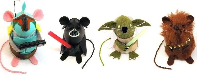 Illustration for article titled Join these cute fluffy Star Wars mice... it is your Destiny!