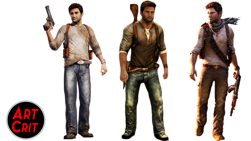 Illustration for article titled Show Us What You Love And Hate About Nathan Drake's Character Design