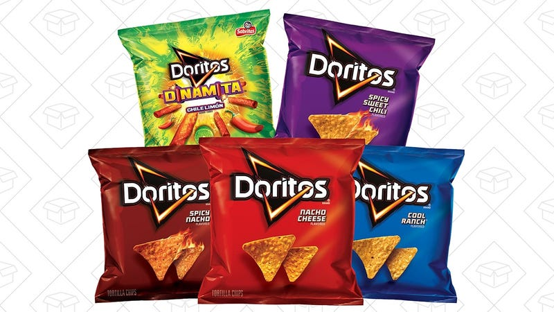 Doritos 40-Bag Variety Pack | $14 | Amazon | Clip the 20% coupon and use Subscribe & Save