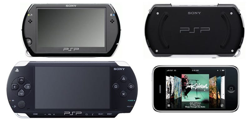 Illustration for article titled Portable Size-Off: How The PSP Go Measures Up