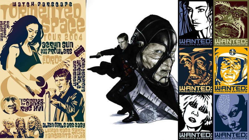 Illustration for article titled All the Coolest Farscape Fan Art and Cosplay