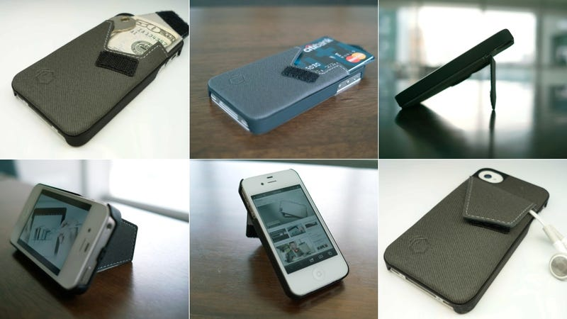 Illustration for article titled Wallet Stand Proves There's Hope for Novelty iPhone Cases