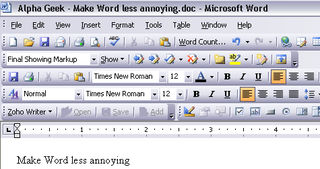 Illustration for article titled Alpha Geek: Make Microsoft Word less annoying