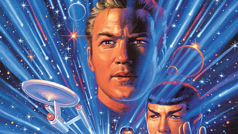 Captain Kirk nears the end of his iconic journey.