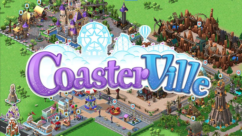 Illustration for article titled Zynga Launches CoasterVille, Its Most Expressive Social Game Yet