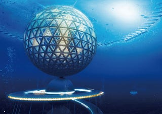 Illustration for article titled Underwater city could fit 5,000 people and draw energy from the seabed