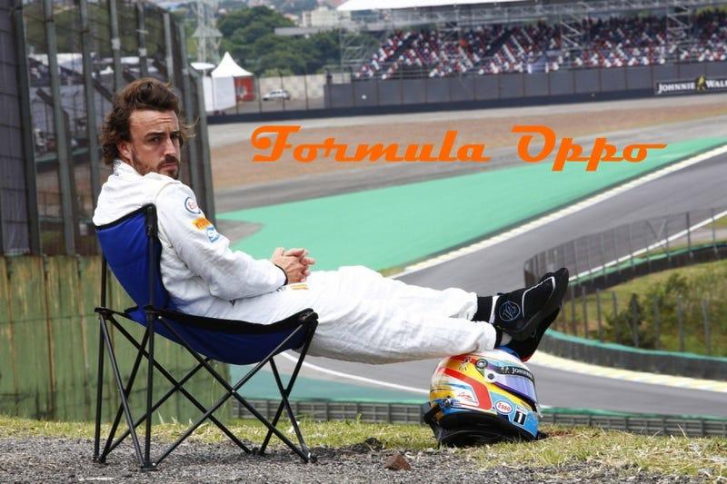 Illustration for article titled Formula Oppo: The Penultimate Grand Prix