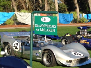 Illustration for article titled Pick Your Favorite McLaren at Today's Amelia Island Concours d'Elegance