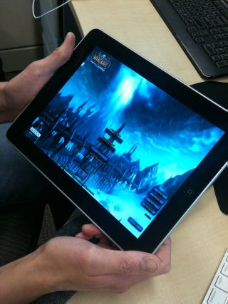 Illustration for article titled World Of Warcraft On The iPad? How Can This Be?