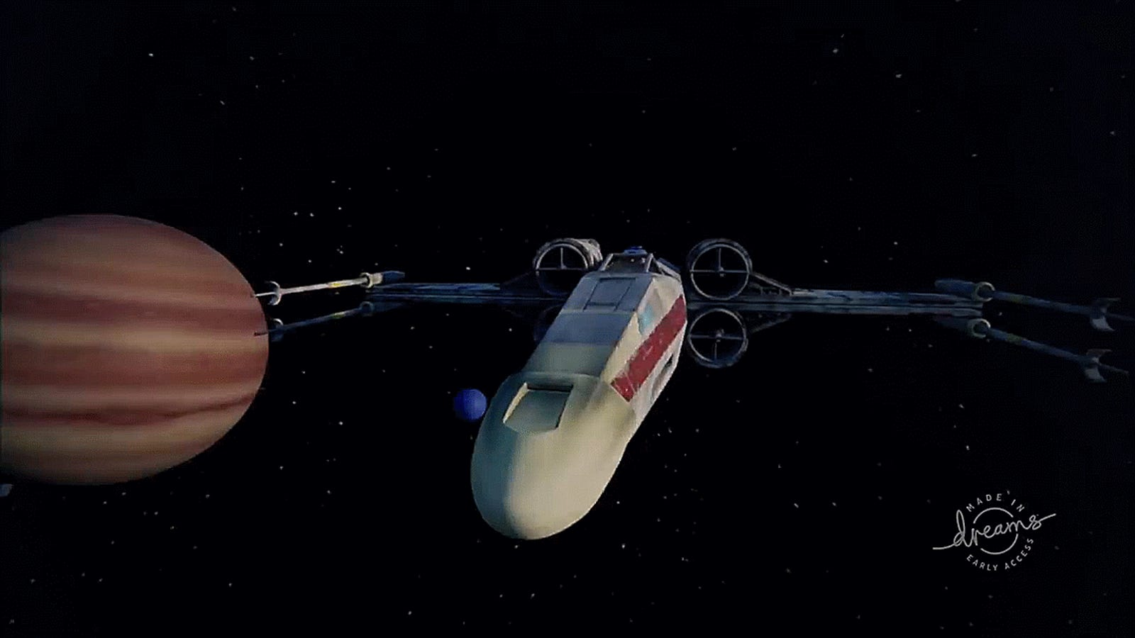 This Star Wars X-Wing Game Was Made By A Fan In Dreams