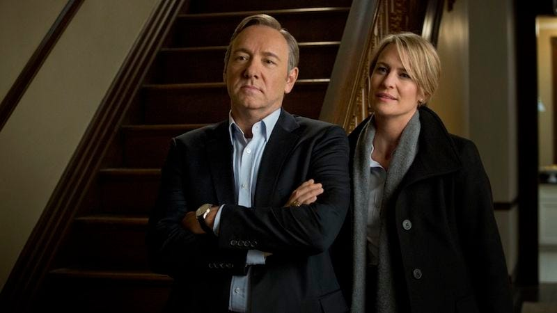 Illustration for article titled House Of Cards is doing really well on Netflix, not that they have to tell you exactly how well