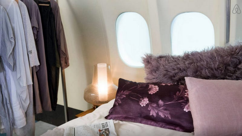 Illustration for article titled You Can Win A Night's Stay On A Retired Jet In Amsterdam
