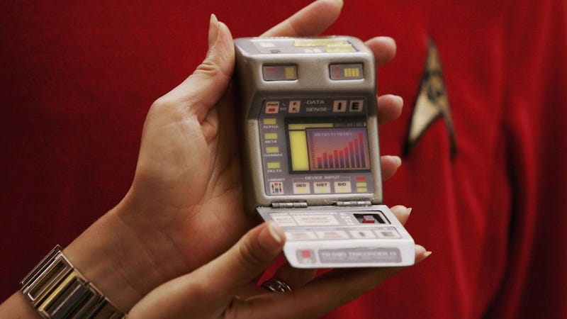 The Star Trek Tricorder. IMAGE: Getty Images
