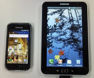 Illustration for article titled Leaked Photo of Samsung Galaxy Tab Shows 7-Inch Android Tablet
