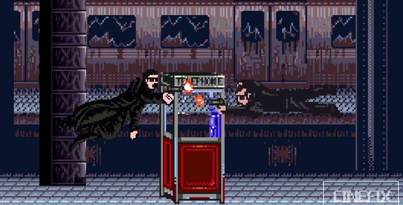 Illustration for article titled Matrix en versión 8-bits sigue siendo mejor película que sus secuelas
