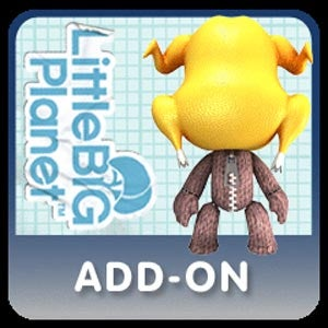 Illustration for article titled Happy Early Thanksgiving - Here's A Sackboy With A Turkey On His Head