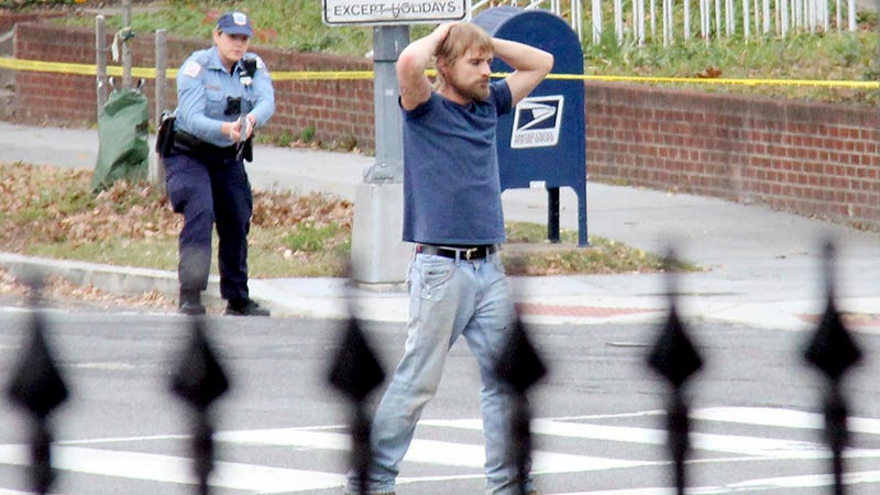 The Comet Ping Pong shooter  Image: Sathi Soma via AP