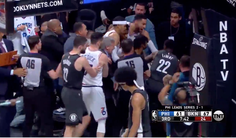 Jared Dudley And Jimmy Butler Were Ejected After A Scrum They Started Got Out Of Hand