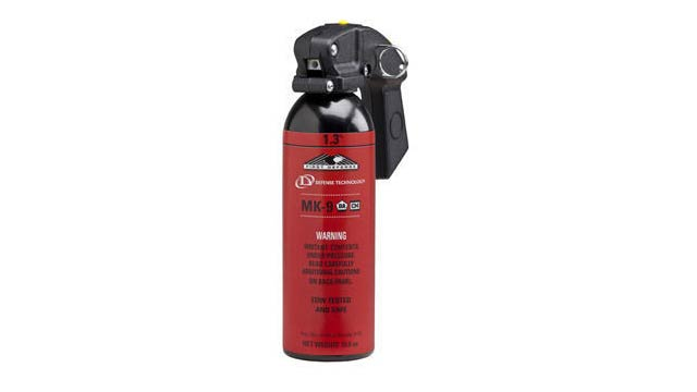 Police Pepper Spray Can