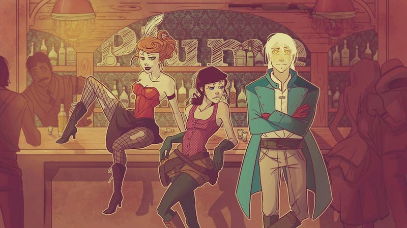 Illustration for article titled Saturday Webcomic: Plume is a rollicking tale of supernatural revenge in the Old West
