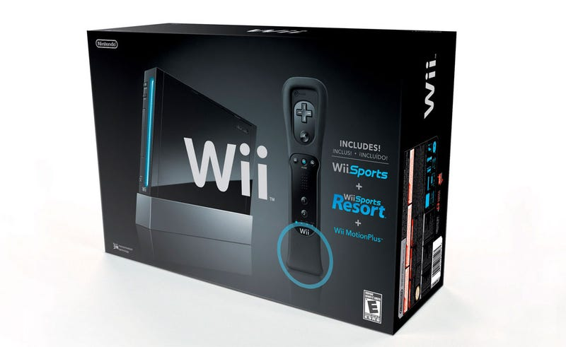 Illustration for article titled Black Wii Will Cost $200, Include Both Wii Sports Games
