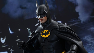 Illustration for article titled This Batman Toy Has Articulated Eyeballs, Because He Can't Turn His Head