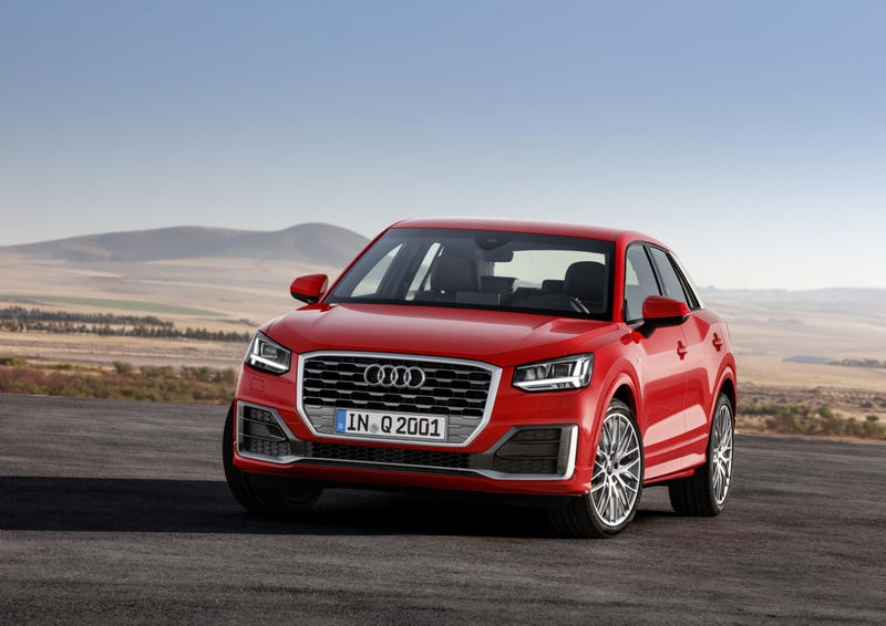 Illustration for article titled Did anyone else have no idea that the Audi Q2 is a thing that's existed for a while now?