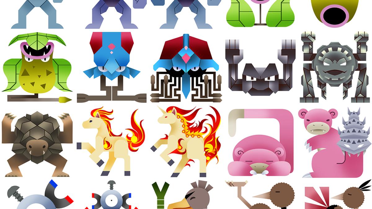 The Original 151 Pokemon Redone As Monster Hunter Icons