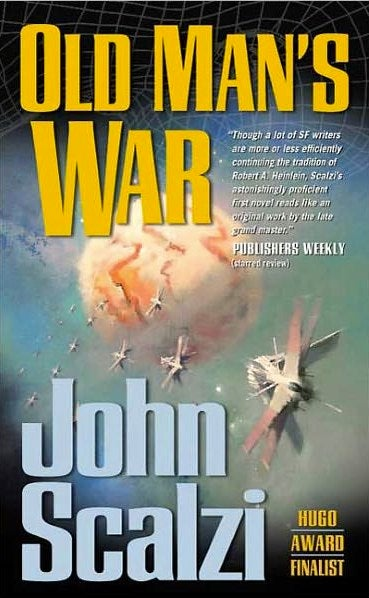 Illustration for article titled John Scalzi's Old Man's War is headed to the big screen