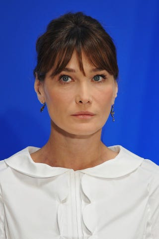 Illustration for article titled French People Want To Smack Carla Bruni